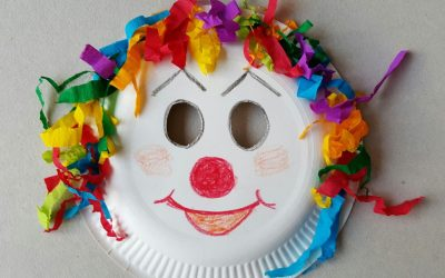 Lavoretti di Carnevale per bambini da fare a scuola o a casa